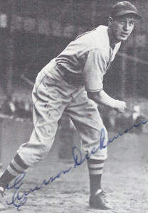 Emerson Dickman Autograph on a 1972 TCMA The 1930's (#292)