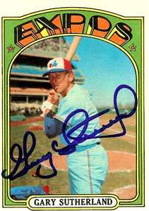 Gary Sutherland Autograph on a 1972 Topps Baseball Card (#211 | <a href='../baseball_cards/baseball_cards_oneset.php?s=1972top01' title='1972 Topps Baseball Card Checklist'>Checklist</a>)
