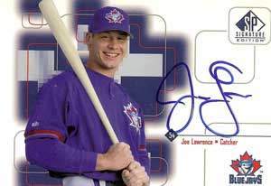 Joe Lawrence Autograph on a 1999 Upper Deck SP Signature Edition (#TL)