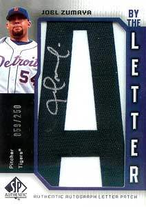 Joel Zumaya Autograph on a 2006 Upper Deck SP (#BL-JZ)
