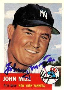 Johnny Mize Autograph on a 1991 Topps Archives Baseball Card (#77 | <a href='../baseball_cards/baseball_cards_oneset.php?s=1991top05' title='1991 Topps Archives Baseball Card Checklist'>Checklist</a>)