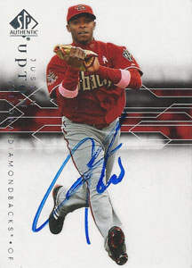 Justin Upton Autograph on a 2008 Upper Deck (#22)