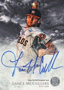 Lance McCullers Autograph on a 2013 Bowman Inception (#LM)