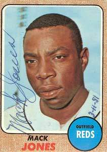 Mack Jones Autograph on a 1968 Topps (#353 | <a href='../baseball_cards/baseball_cards_oneset.php?s=1968top01' title='1968 Topps Baseball Card Checklist'>Checklist</a>)