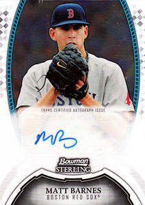 Matt Barnes Autograph on a 2011 Bowman Sterling (#BSP-MBA)