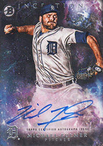 Michael 'The Plumber' Fulmer Autograph on a 2016 Bowman Inception Baseball Card (#PA-MF)