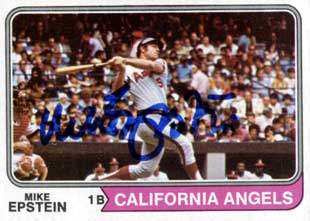 Mike Epstein Autograph on a 1974 Topps Baseball Card (#650 | <a href='../baseball_cards/baseball_cards_oneset.php?s=1974top01' title='1974 Topps Baseball Card Checklist'>Checklist</a>)