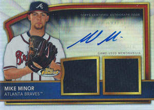 Mike Minor Autograph on a 2011 Topps Certified (#68)