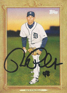 Rick Porcello Autograph on a 2010 Topps (#TR38)