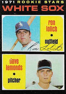 Ron Lolich Autograph on a 1971 Topps Baseball Card (#458)