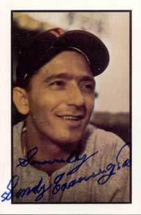 Sandy Consuegra Autograph on a Collector Series (#89)