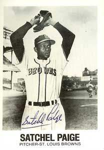 Satchel Paige Autograph on a 1977 TCMA (#22)