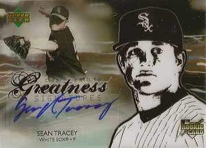 Sean Tracey Autograph on a 2006 Upper Deck (#121)