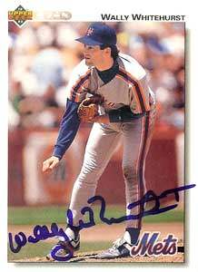 Wally Whitehurst Autograph on a 1991 Upper Deck (#414)