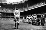 Yankee Stadium on Babe Ruth Day