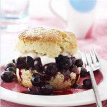 Blueberry Shortcakes
