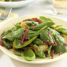 Baby Spinach 'n Bacon Salad