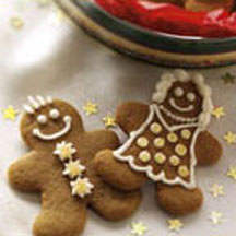 Crystallized Ginger Gingerbread People