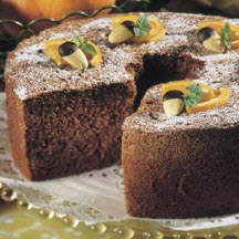 Passover Chocolate Almond-Orange Cake