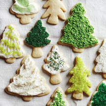 Sugar Cookie Christmas Trees