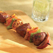 Balsamic Spiced Lamb Kabobs