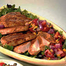 Chipotle Turkey with Sweet Onion Charred Corn Salsa