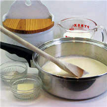 Basic Bechamel (White) Sauce with Variations