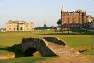Golf at St Andrews - Ancient and Royal Clubhouse